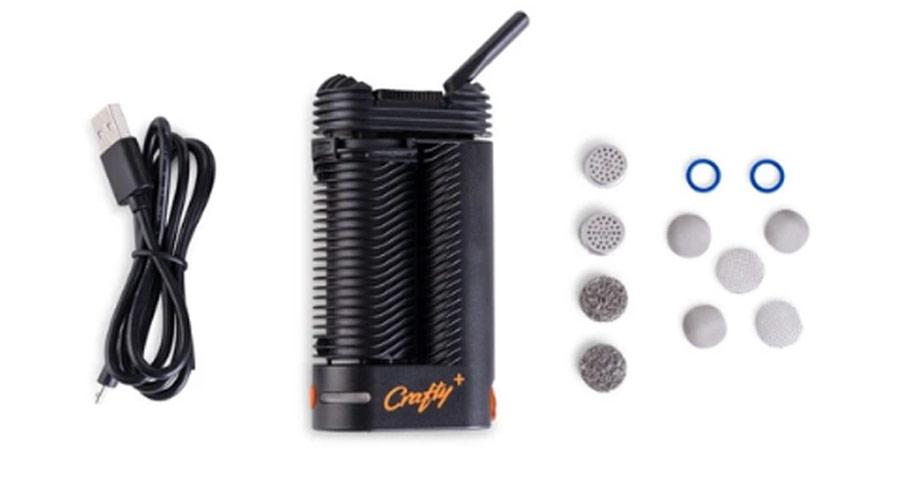 crafty plus vaporizer components